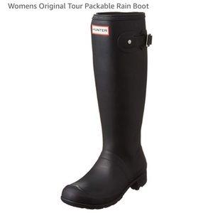 🖤Hunter Women's Packable Rain Boot